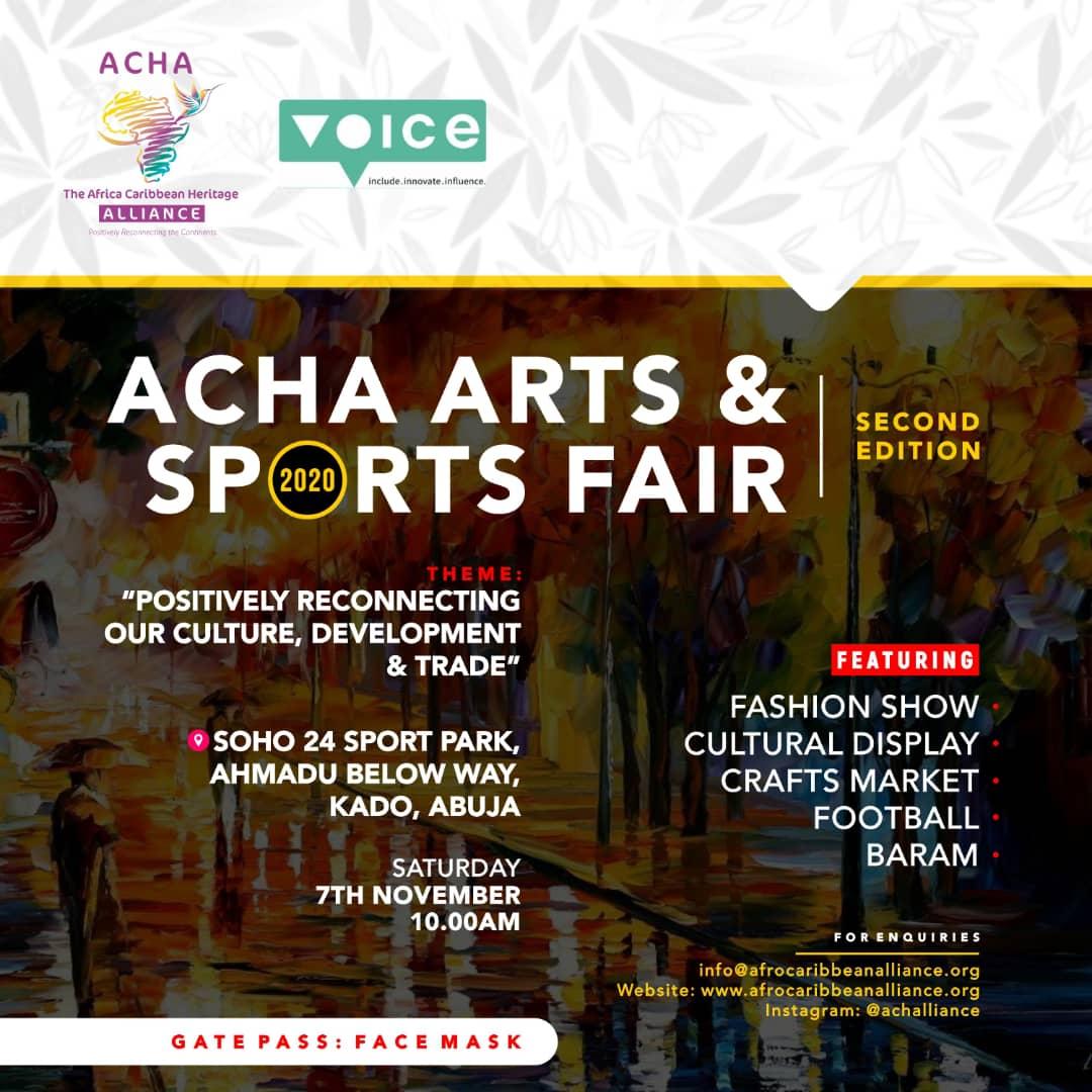 Abuja Arts and Sports Fair 2nd Edition by ACHA
