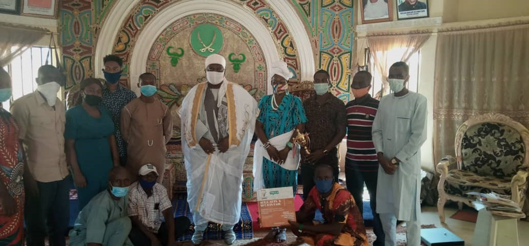ACHA pays a Courtesy Visit to the Gomo of Kuje